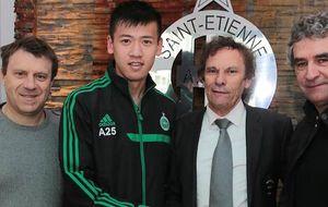 El Saint Etienne se la juega con un chino y espera que no sea un cuento