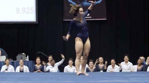 La gimnasta que se ha hecho célebre con un ejercicio de 10 inspirado en Michael Jackson
