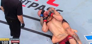 Post de UFC Moncton: Anthony Smith estrangula a Volkan Oezdemir pese a estar casi cojo