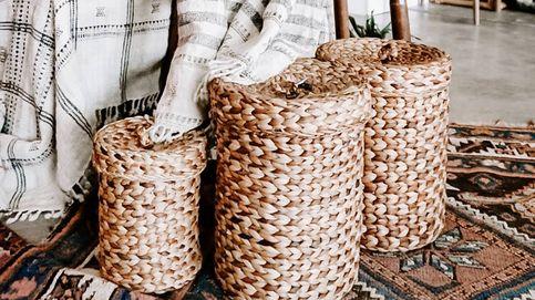 Cestos de ropa sucia para separar la ropa limpia y mantener la casa recogida