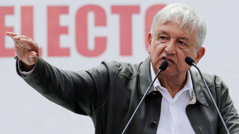 El presidente mexicano Andrés Manuel López Obrador habla a sus seguidores, el 29 de septiembre de 2018. (Reuters)
