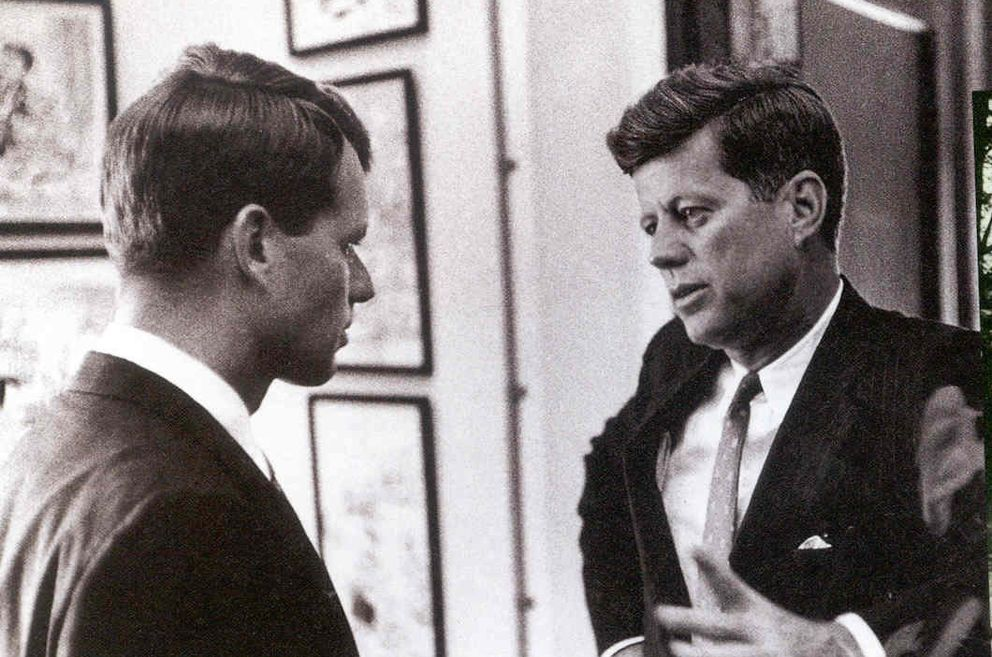 Foto: Robert y John Fitzgerald Kennedy fueron asesinados con apenas 5 años de diferencia.