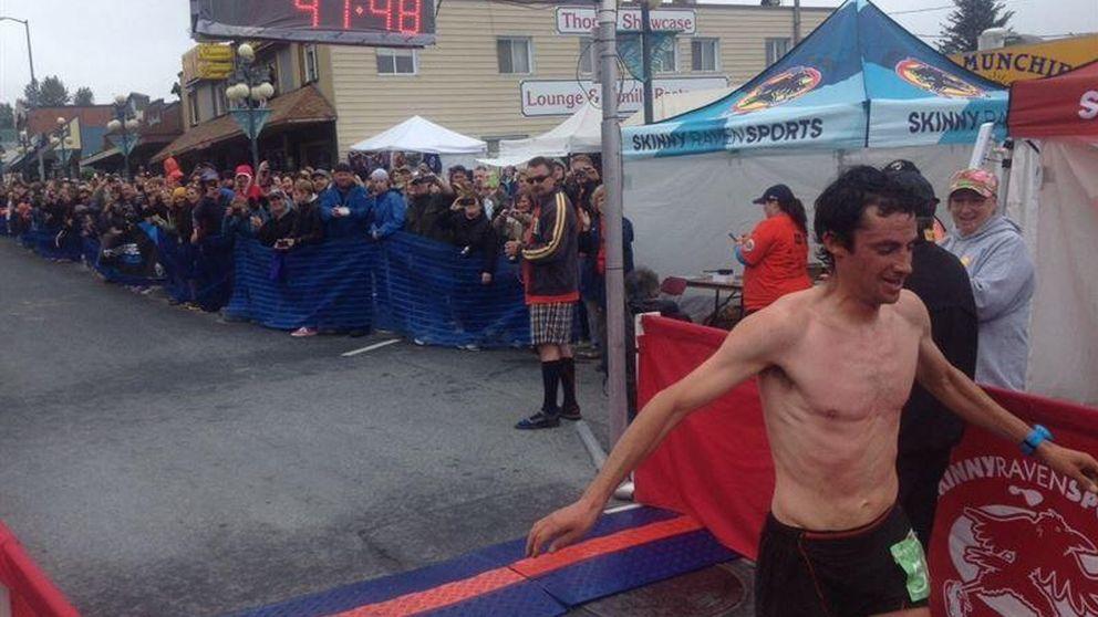 Kilian Jornet logra la victoria en el 'Mount Marathon' de Alaska con récord