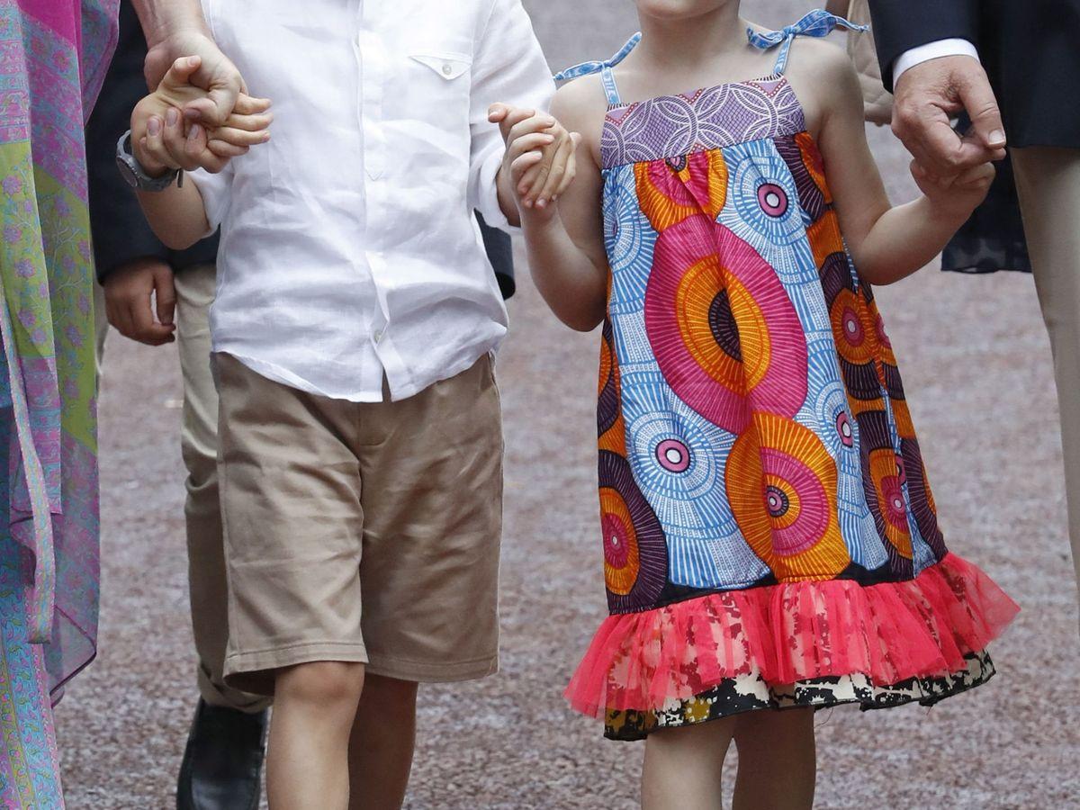 Foto: Jacques y Gabriella, en una de sus últimas apariciones públicas. (EFE)