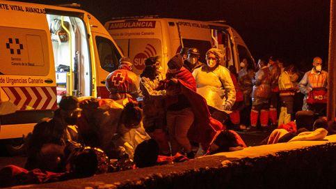 Un niño y una embarazada entre los cuatro fallecidos en el naufragio de Lanzarote