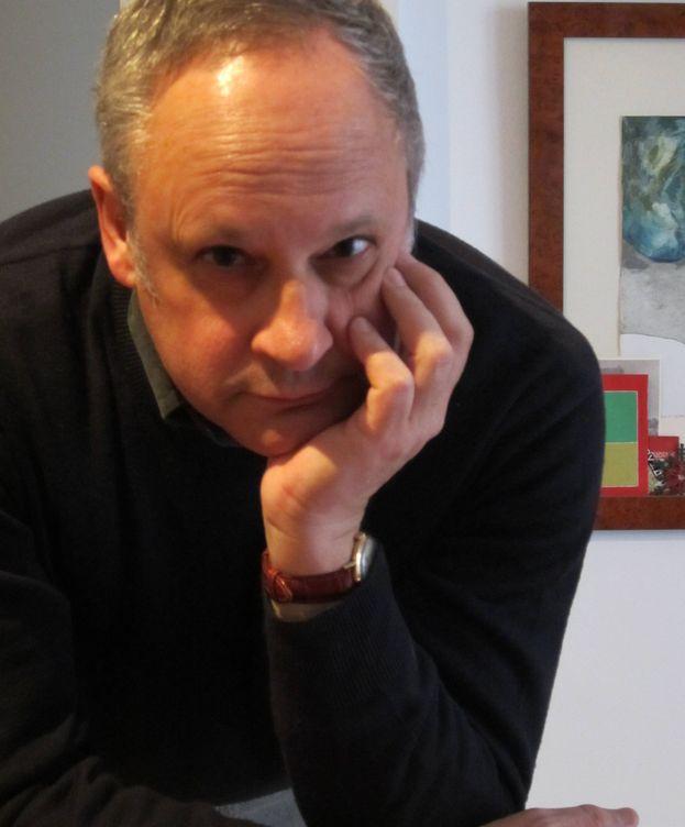 Foto: Jordi Ibáñez, autor de 'El reverso de la historia'.