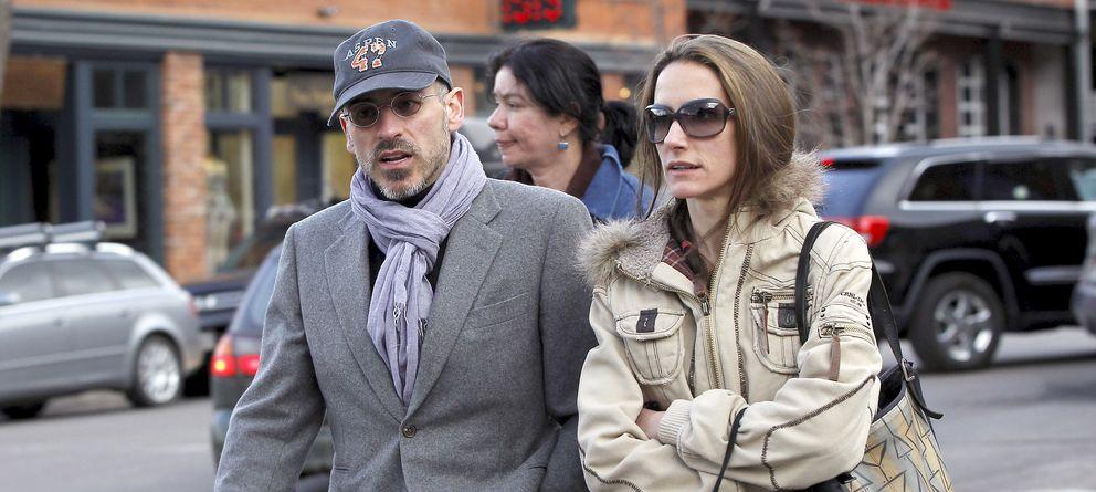 Foto: Jaime del Burgo y Telma Ortiz, en una imagen de archivo