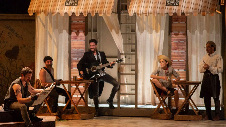 'Castelvines y Monteses', en el Teatro de la Comedia de Madrid este año. (EFE)
