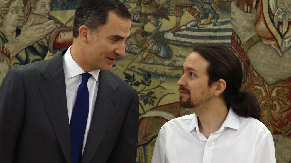 Pablo Iglesias propone al rey un gobierno de coalición entre Podemos, PSOE e IU