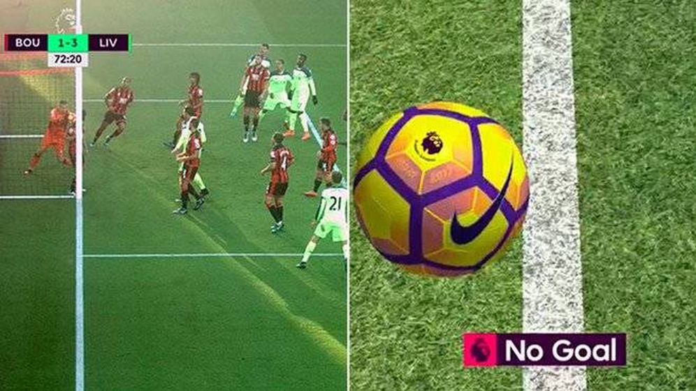 Foto: El no gol de Milner (Twitter)