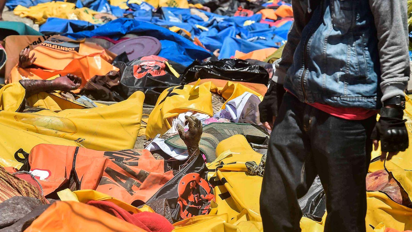 Foto: El desastre deja 832 muertos en Indonesia. (Reuters)