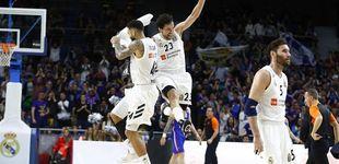 Post de Sergio Llull: un caño, tres triples y un final demoledor en la victoria del Real Madrid