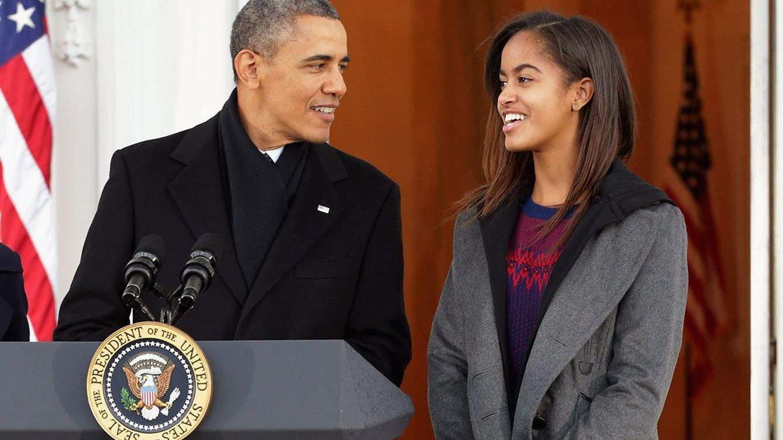 Foto: El presidente de los EEUU, Barack Obama, con su hija Malia, en una imagen de archivo (Reuters)