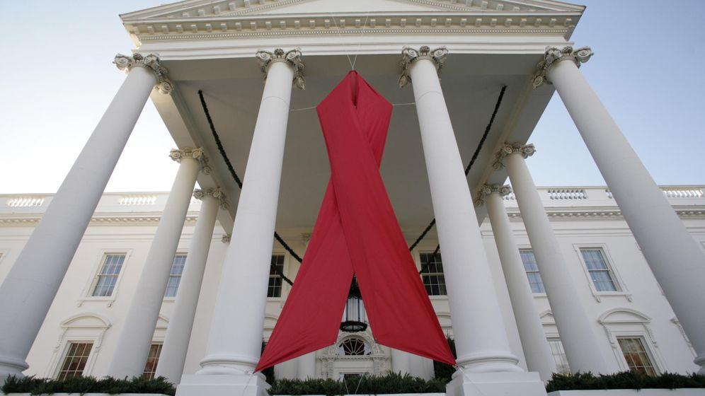 Foto: El Día Mundial de la Lucha contra el sida en La Casa Blanca. (Reuters)