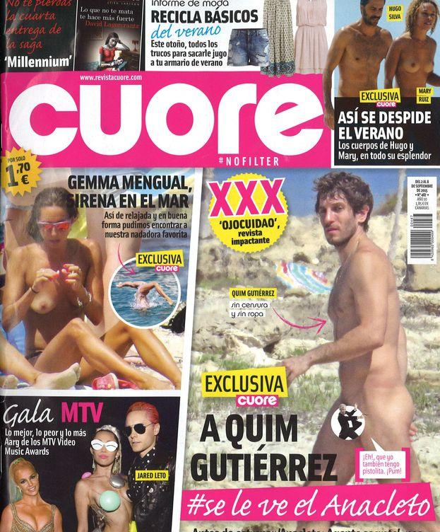 Foto: Quim Gutiérrez en 'Cuore'