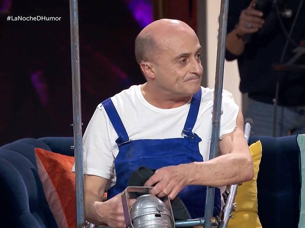 Foto: Pepe Viyuela, en 'La noche D'. (TVE)
