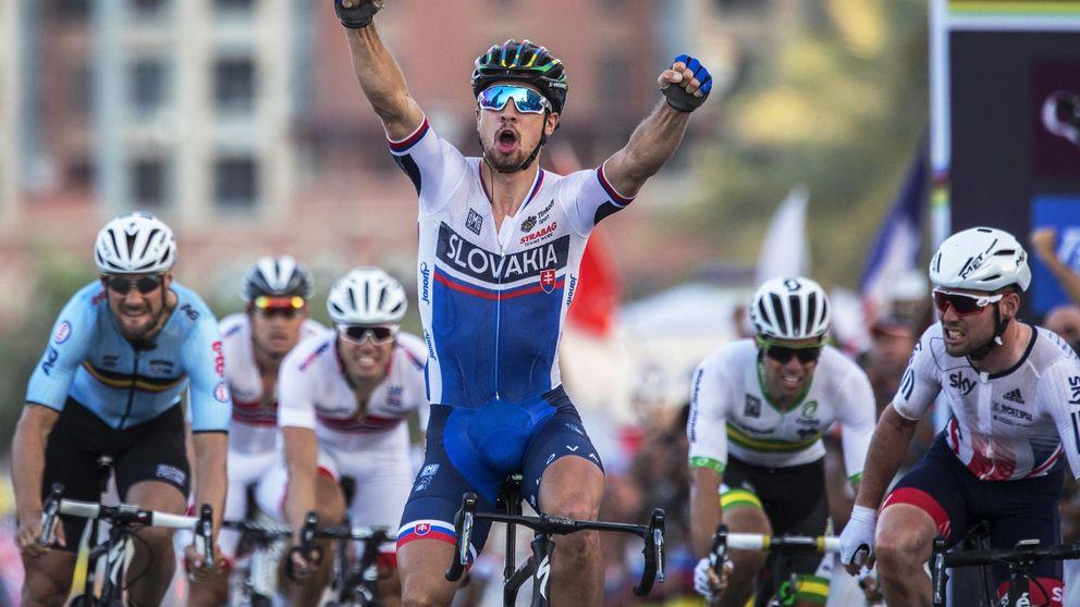 Peter Sagan, campeón por segundo año consecutivo del Mundial de ciclismo