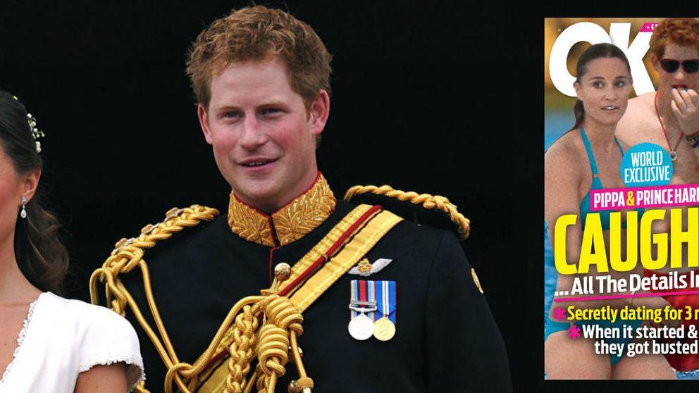 El supuesto romance del príncipe Harry y Pippa inunda los kioskos americanos