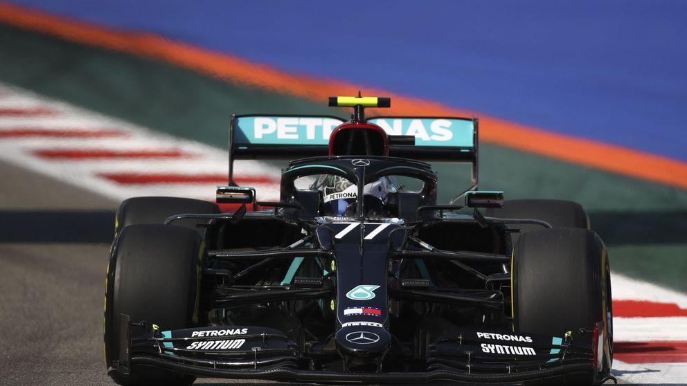 Cómo Bottas pasó de dominar en su circuito favorito a ser vapuleado por Hamilton
