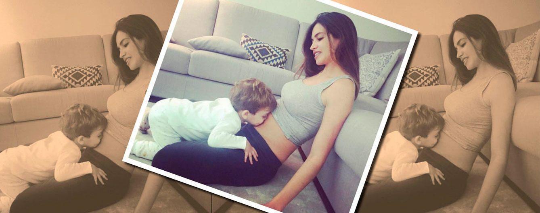 Foto: La tierna imagen con la que Sara Carbonero anunció su segundo embarazo (Instagram)
