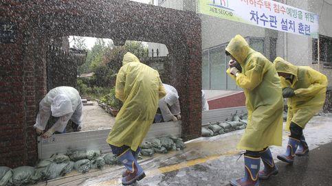 Corea del Sur vive el monzón más largo desde que hay registros en el país