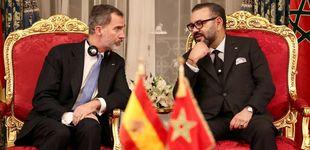 Post de Mohamed VI exhibe su velero de 88M en plena oleada de migración marroquí