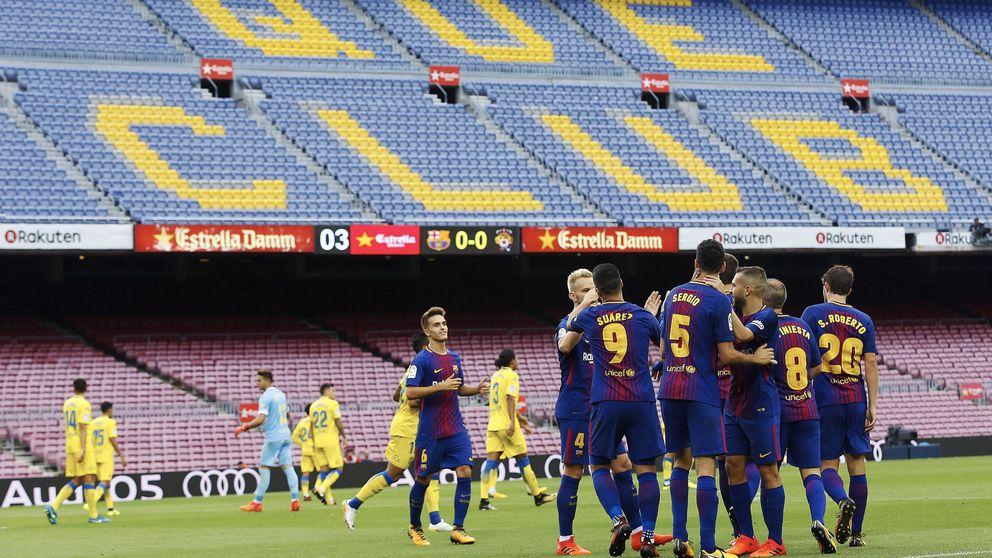 Cómo un espontáneo puede saltar al Barça - Las Palmas si es a puerta cerrada