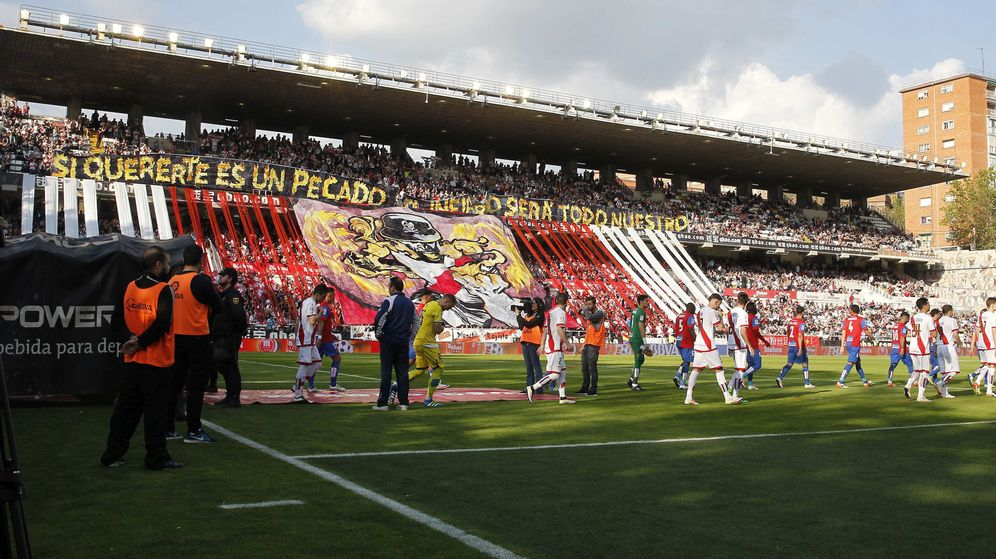 Foto: Estadio del Rayo Vallecano.