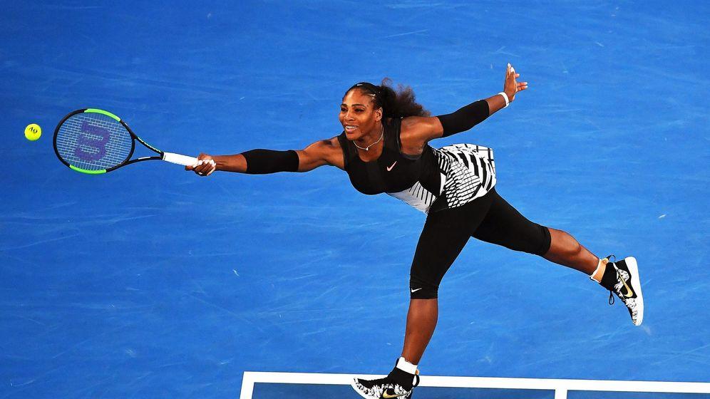 Foto: Serena Williams, en el Abierto de Australia. (EFE)