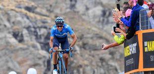 Post de El ataque de Mikel Landa en el Giro para ir a por el doblete del Movistar
