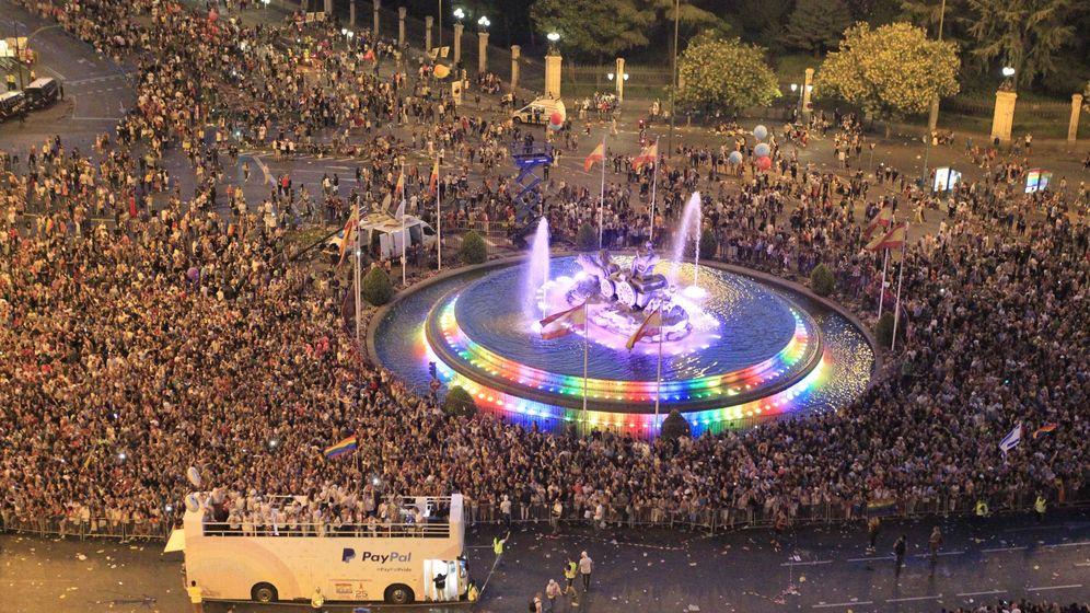 Foto: Marcha mundial del Orgullo Gay en Madrid | EFE