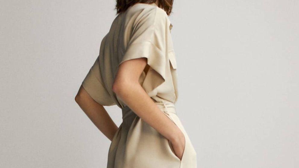 El vestido sahariano por el que volverte loca está en Massimo Dutti