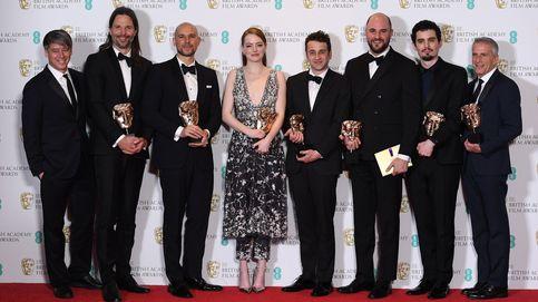 'La La Land' gana cinco 'máscaras' doradas en los Bafta y llega lanzada a los Oscar