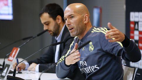 Zidane se topa con lo que es el Madrid: Oigo gente que duda de mis habilidades