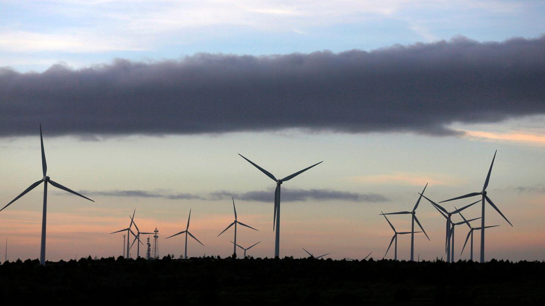 Parque eólico de Maranchón, en la provincia de Guadalajara. (Reuters)