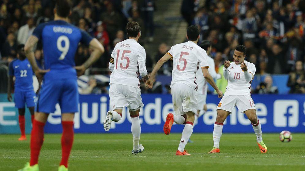 Foto: España ganó a Francia en Saint-Denis en un amistoso reciente. (Reuters)