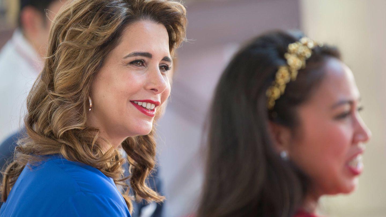 La princesa Haya de Jordania, en una imagen de archivo. (Getty)