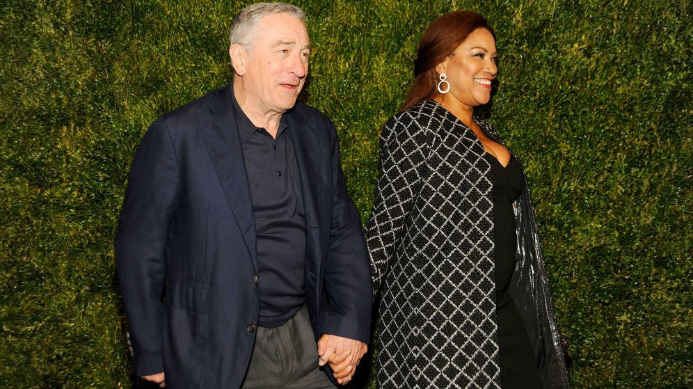 Foto:  De Niro y Grace. (Getty)