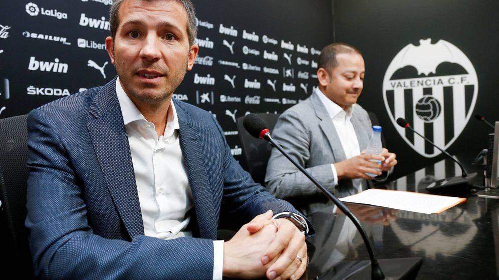 Foto: Presentación de Albert Celades como nuevo entrenador del Valencia CF. (EFE)