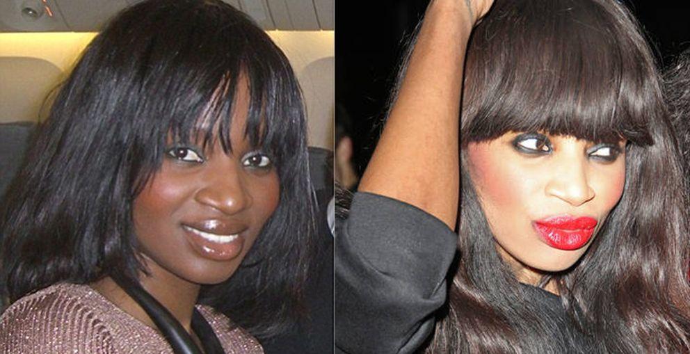 Tratamiento para cabello de mujer negra