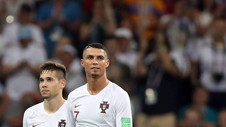 Cristiano durante el Mundial de Rusia. (Efe)