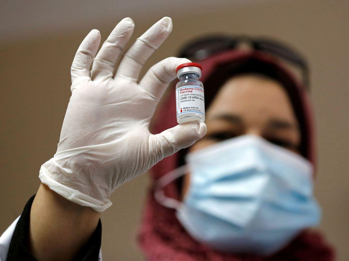 Foto: Dosis de Moderna. (Reuters)