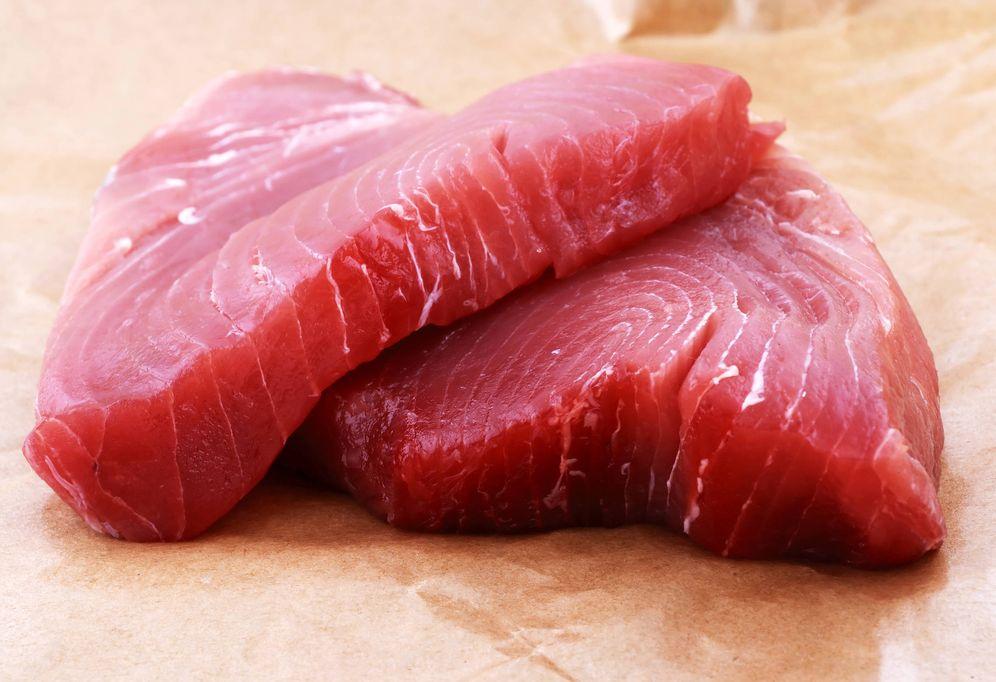 Foto: Filete de atún. (iStock)