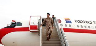 Post de Felipe VI celebra su cumpleaños visitando en Irak a las tropas españolas