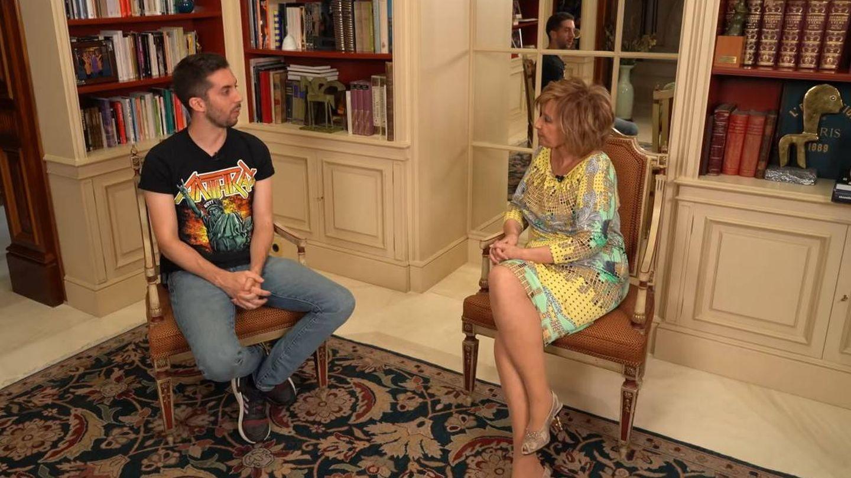 David Broncano y María Teresa Campos, en una reciente entrevista que le hizo la periodista malagueña para su canal de YouTube.