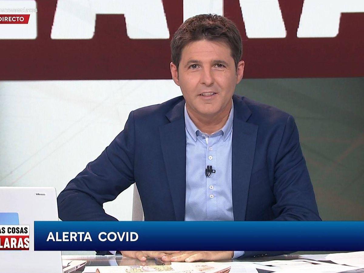 Foto: Jesús Cintora, presentador de 'Las cosas claras'. (RTVE)