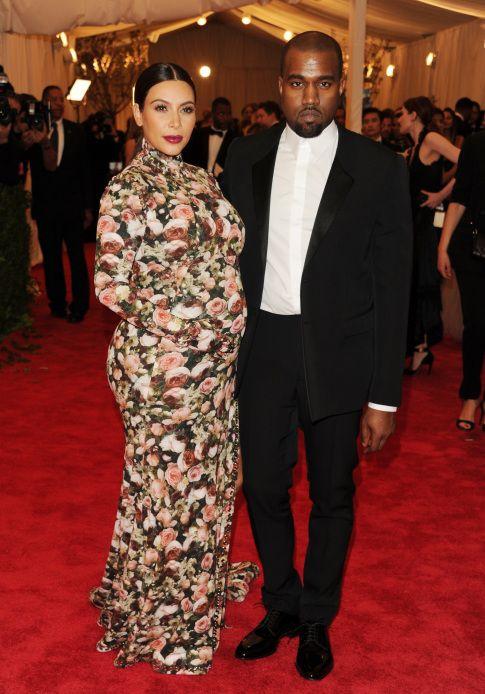 Kim Kardashian y Kanye West (I.C.)