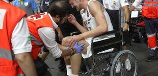 Post de Las lesiones de Kuzmic y Randolph empañan el inicio estelar del Real Madrid