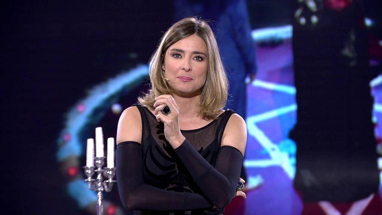 Foto: La presentadora Sandra Barneda, en la última entrega de 'GH Revolution: última hora'. (Mediaset)