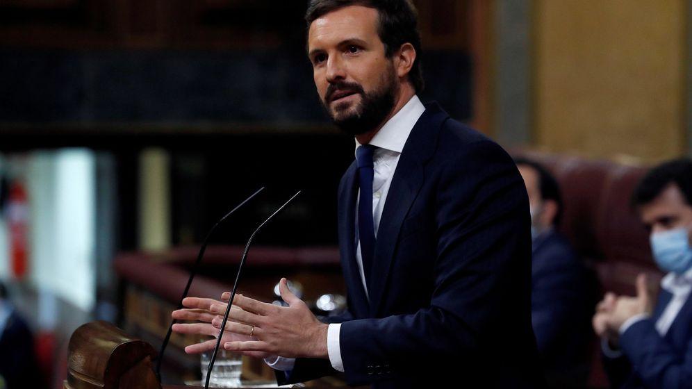 Foto: Pablo Casdo, en el Congreso. (EFE)